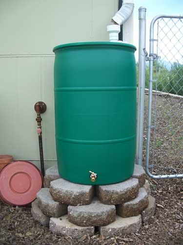 Rain Barrels Rain Water Collection Plastic Rain Barrel