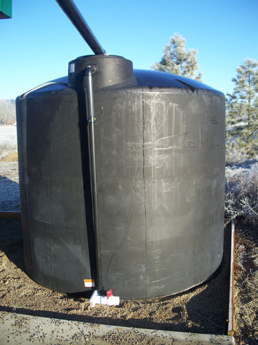 Above Ground Large Water Tank Cistern Installations