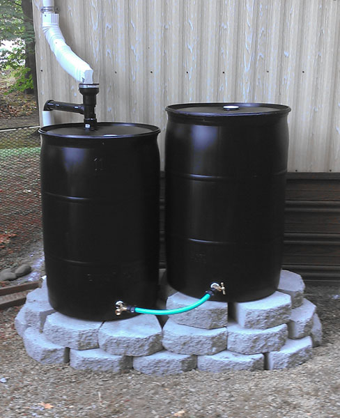 Rain Barrels Water Collection